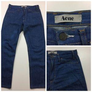 ACNE L.U.V Soft Raw High Rise Jeans